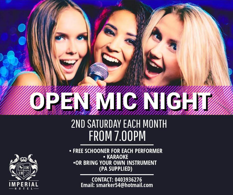 open mic (new)